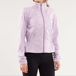 Lululemon Women's Travel To Track Jacket Purple 6